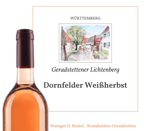 Dornfelder Weißherbst
