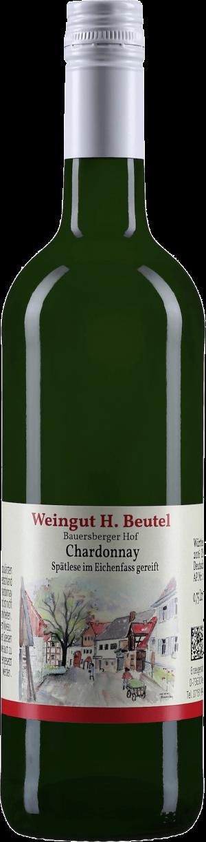Chardonnay Spätlese im Eichenfass gereift